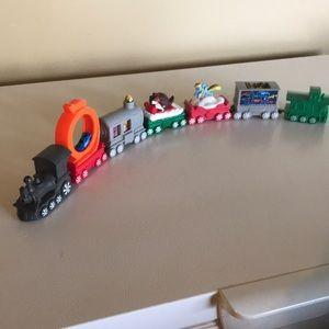 McDonald's toy train